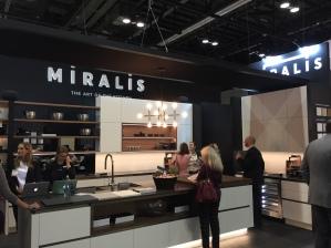 Contemporary kitchen & island display